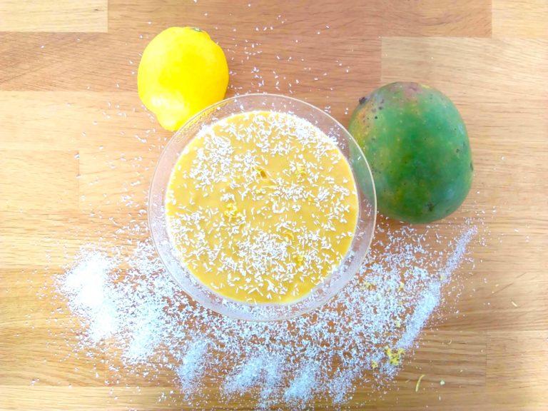 Mango-Kokosnuss-Creme