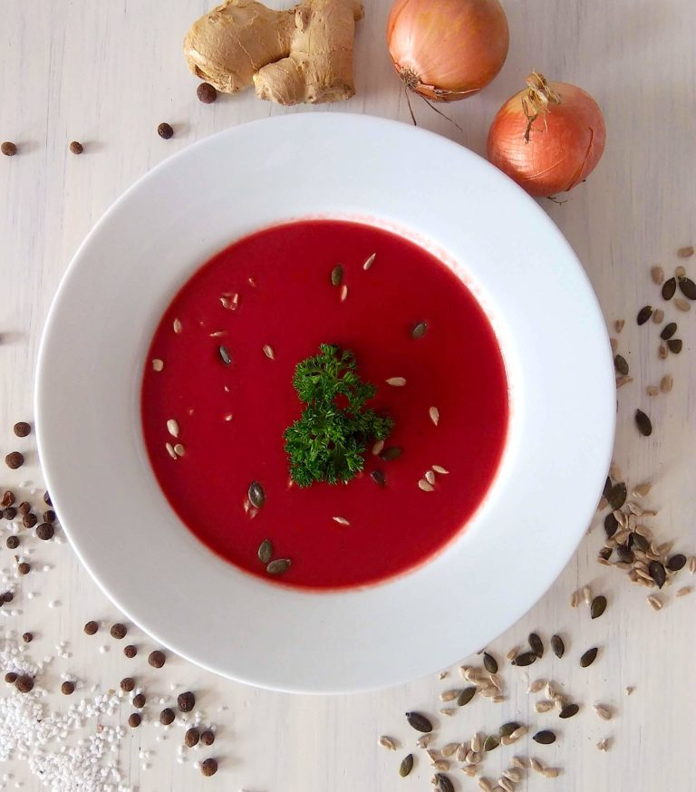 vegane Rote Bete Suppe